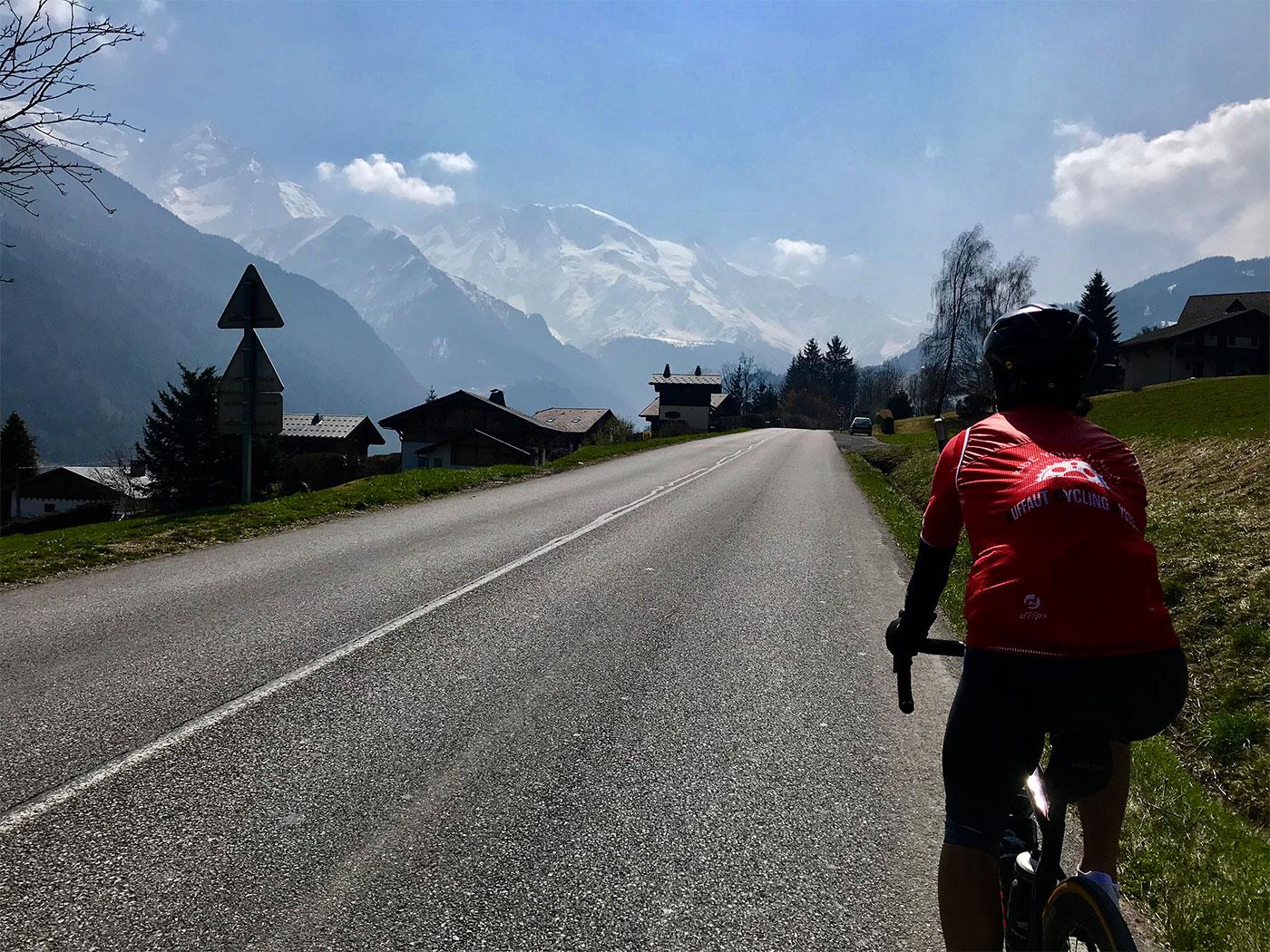 Parcours vélo : Au pays du Mont Blanc