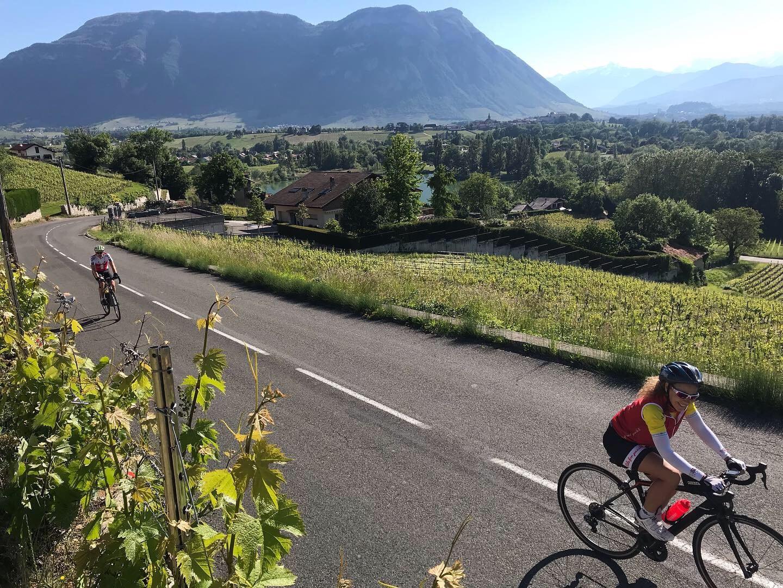 Nutrition lors d'un stage / séjour cycliste : Genève – Mont Ventoux